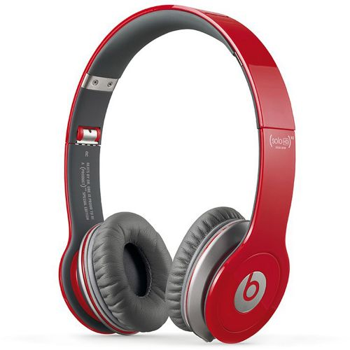 Beats by Dr. Dre Solo HD On-Ear Headphones - Red