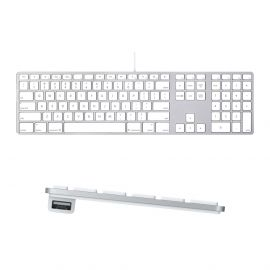 Apple USB Wired Aluminium Keyboard English US Refurbished