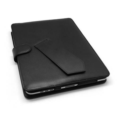 New Leather iPad Case including Stand for iPad 2, 3, and 4