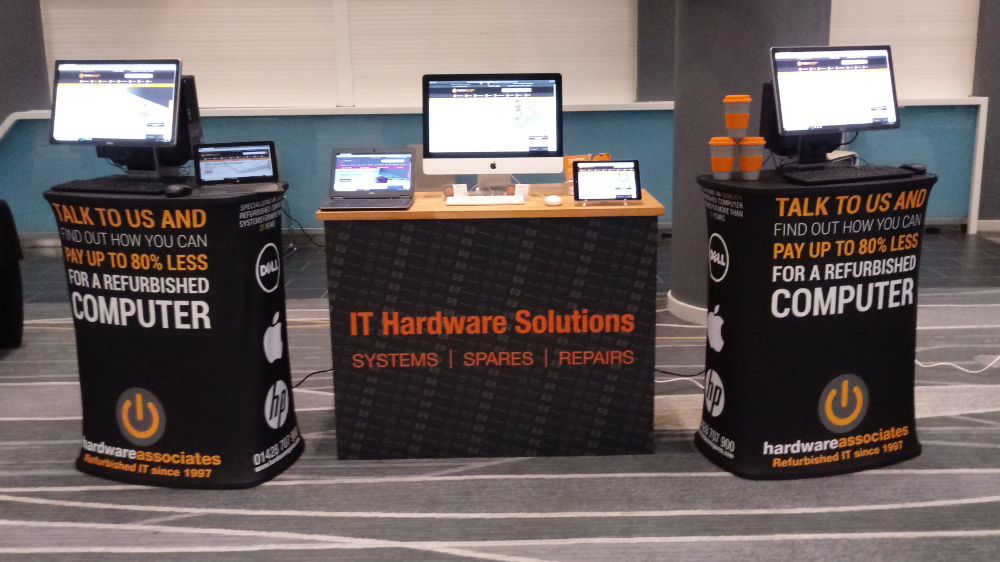 Hardware Associates Stand at ICT for Education in Brighton